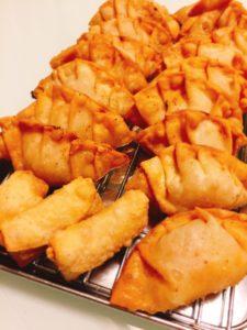 米粉揚げ餃子