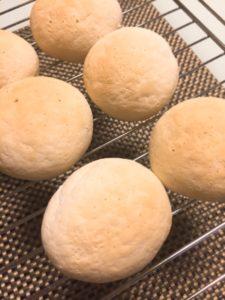 米粉100% 丸パン