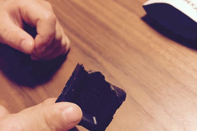 乳アレっこの娘も一緒に食べられるチョコレート